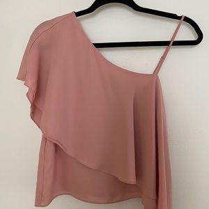 Half shoulder blouse